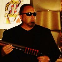 Glen Cooke as Shades Security Guard